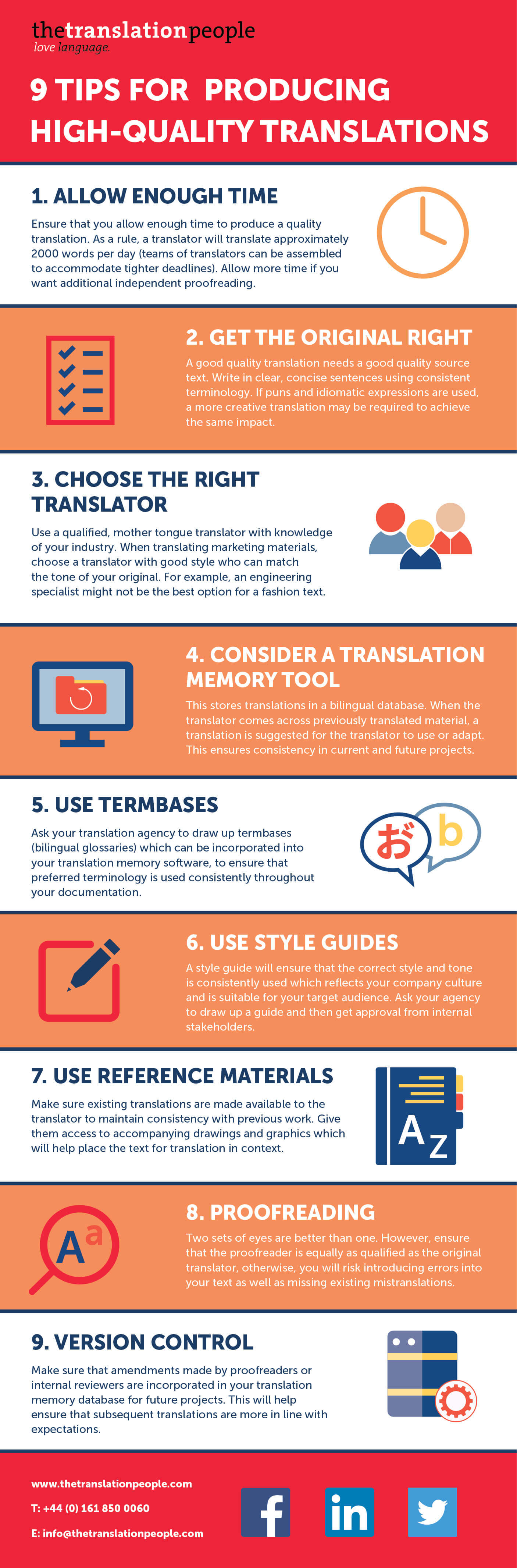 9 Tips for Producing High-Quality Translations